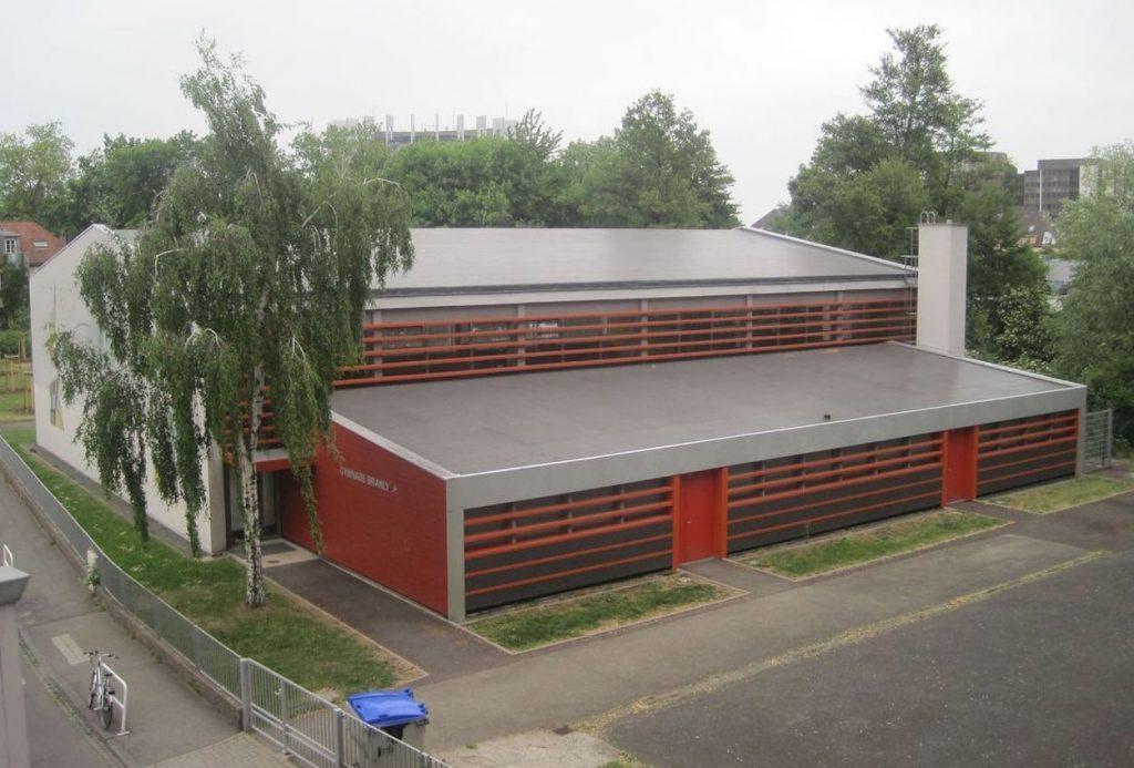Gymnase Branly 4 rue leon boll strasbourg