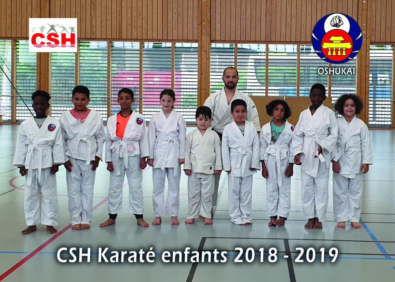 Groupe enfants csh 2019