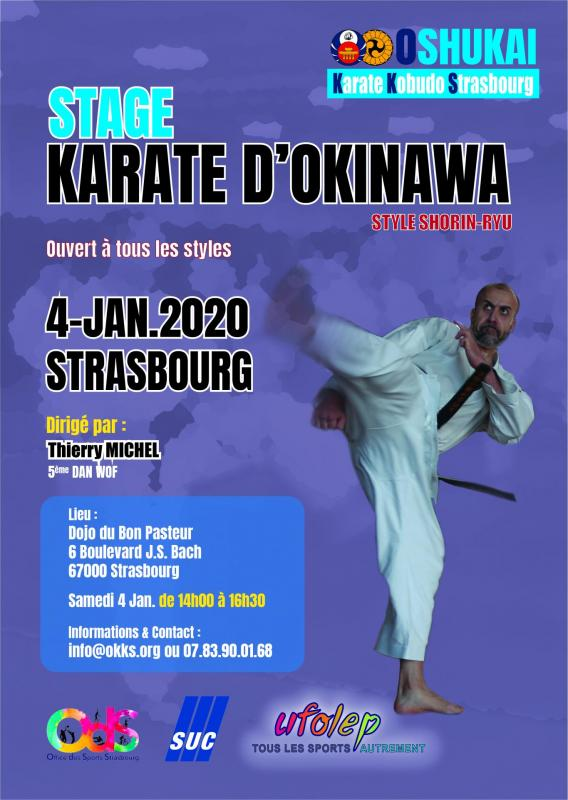 Stage strasbourg karate 2020